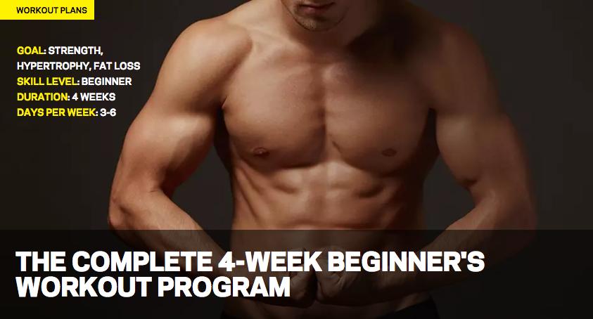 4-Week Beginner Challenge – (WE)T Workout